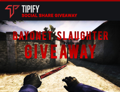Tipify Knife Giveaway